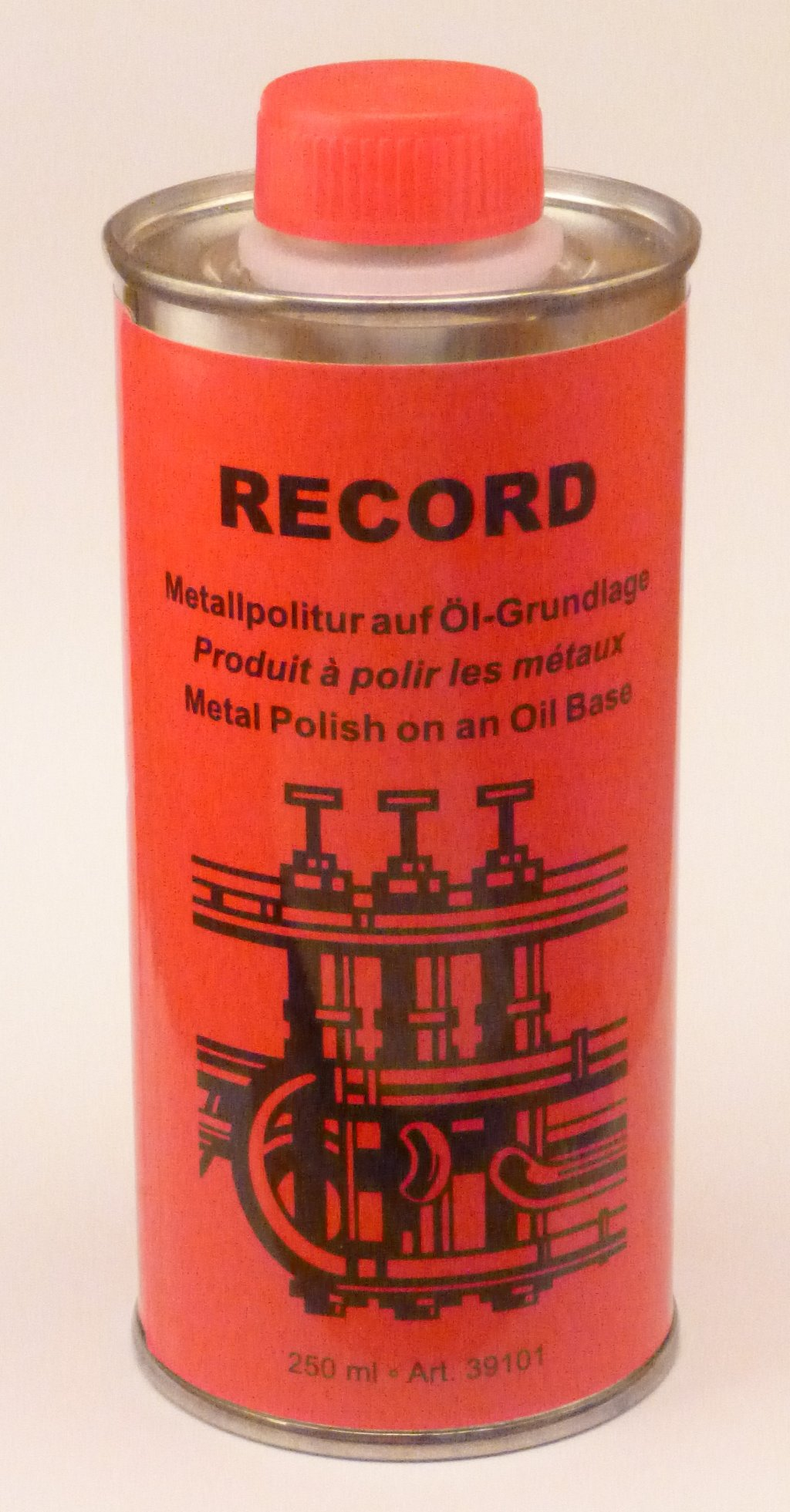 Record Metal Polish